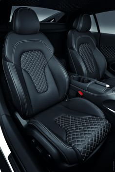 2013 Audi R8 V10 seats interior diamond stitch