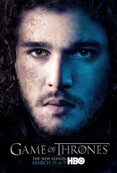 Jon Snow - Game of Thrones Season 3 - character poster