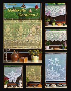 Gehäkelte Gardinen 3, Taschenbuch und e-book