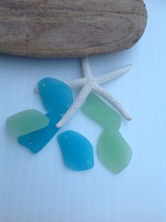 Suppliessea glass beadsseaglassbeach by SeasideJewelry1 on Etsy (Craft Supplies & Tools, Jewelry & Beading Supplies, Beads, beach glass, recycled sea glass, supply, sea glass, Sea glass supplies, drill glass beads, beach glass beads, Cultured seaglass, glass drilled beads, beach jewelry, Double hole, free form, wire wrapping)