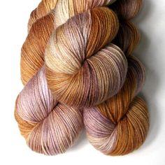 MCN 430 Fingering Yarn - Misty Peach, Julie Spins.