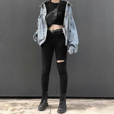 """4,145 Likes, 39 Comments - GRUNGE & ROCK (@metallicastyle) on Instagram: """"Rate this outfit 1-10 """""""