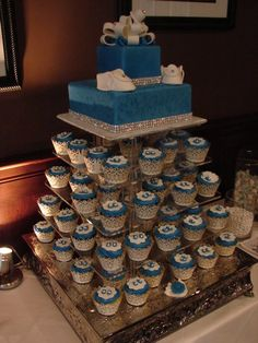 couture baby shower cakes | BabyBlue Cake