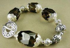 Smoky Quartz Bracelet Jou by Gonet Jewelry Design by Gonet