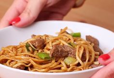 The best and easiest recipe for Beef And Garlic Noodles.