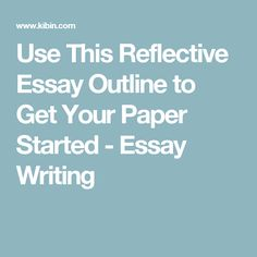 008 Grade 9 Reflective Essay Writing skill Essay writing