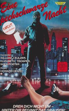 Shadows Run Black (1984) (Germany)
