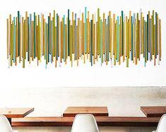 Wood Wall Art | Natural Wood Wall Decor | Modern Wall Sculpture | Wood Wall Art | Rosemary Pierce Modern Art