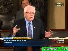 Sen Bernie Sanders Amazing Speech!