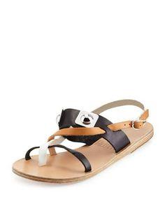 Louise et Cie Rissa Flat Sandal OXJzc