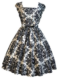damask_50s_dress £28.00 to hire