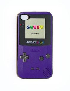 iPhone--Gameboy Color