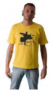 Camiseta Bateria por R$37,50 no site Camiseta Ilustrada!