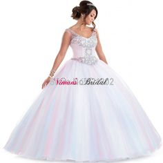 Find More Quinceanera Dresses Information about Ball Gown V Neck Tulle Crystal Quinceanera Dresses 2016 High Quality Sleeveless Vestidos De Quinceaneras Free Shipping VE012,High Quality dresses plus,China dress up old lady Suppliers, Cheap dress up fairy wings from Viman's Bridal on Aliexpress.com