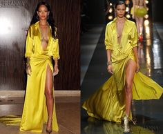 Rihanna Shines Bright in Alexandre Vauthier at the Pre-Grammy Gala || January 24th | Rihanna Overdose | 24/7 Source for Rihanna's Fashion, Media & More