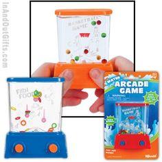 arcade birthday party favor bags | Mini Aqua Arcade Games - Toysmith - Pack of 30 ea - InAndOutGifts.com