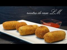CROQUETAS DE ACELGAS O ESPINACAS CON QUESO Albondigas, Cornbread, French Toast, Muffin, Appetizers, Breakfast, Ethnic Recipes, Medieval, Food