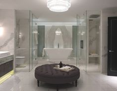 Luxury London Apartments at Walpole Mayfair, bathroom the size of a small appartment!!