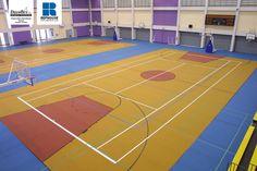 Decoflex D Rubber Sports Flooring @ Ruamrudee International School, Bangkok, Thailand