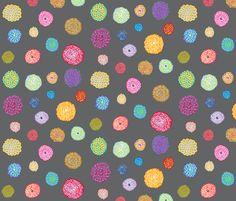 Flowers fabric by janet_antepara on Spoonflower - custom fabric