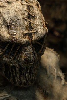Banshee Scarecrow   Grim Stitch Factory