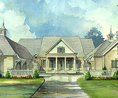 Southern Living Plan Elberton Way SL1561 real pix of the house