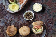 Whole Wheat Scones / Brookdale Health Hydro (p) Whole Wheat Scones Recipe, Scones Ingredients, Brown Bread, Cake Flour, Salmon Burgers, Food Ideas, Healthy Eating, Yummy Food, Foods