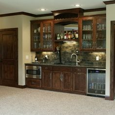 Basement Wet Bar Area Ideas Media Room   Traditional   Basement    Minneapolis   Werschay Homes