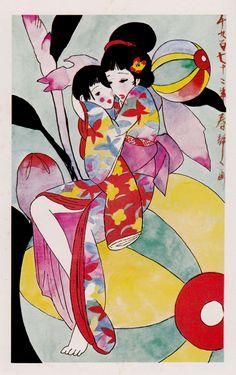 Seiichi Hayash - Japanese illustrator
