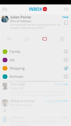 by Julien Poirier Iphone Ui, Show And Tell, Some Pictures, Lorem Ipsum, Productivity, App, Projects, Design, Handstand