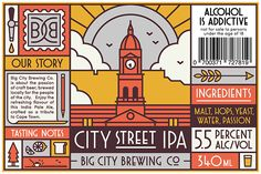 Big City Brewing Co. on Behance by MUTI