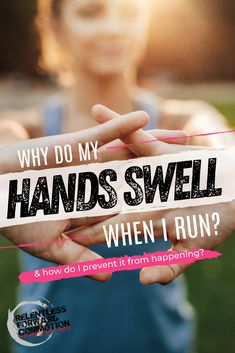 """Running is inherently GOOD for our bodies. That said, there is a laundry list of minor maladies that may pop up from time to time, leaving new runners wondering what the heck is happening to their body.  Among the list of unexpected concerns I often hear from newer runners is """"why do my hands swell when I run""""?  Let's dig deeper... Running Injuries, Running Workouts, At Home Workouts, Running Gear, Marathon Tips, Half Marathon Training, Running Quotes, Running Motivation, Training Plan"""