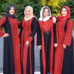 Ethnic Fashion, Hijab Fashion, Modest Dresses, Bridal Dresses, Embroidery On Kurtis, Embroidery Patterns, Hand Embroidery, Abaya Pattern, Arabic Dress