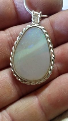 Coober pedy Opal Pendant 15ct..27x18x4mm Double sided. by ownanopal on Etsy
