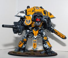 Imperial Knight - House Hawkshroud - My Photo Gallery Warhammer Models, Warhammer Fantasy, Imperial Knight, Fantasy Battle, My Photo Gallery, Warhammer 40k Miniatures, Game Workshop, Warhammer 40000, Paladin