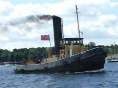 Steam tug boat