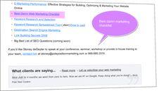 Best damn marketing checklist from polepositionmarketing.com