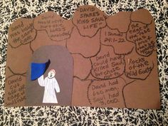 Children's Bible Lessons: Lesson - David Spares King Saul's Life
