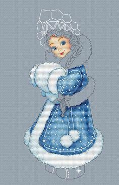 """Gallery.ru / """"Снегурочка"""" - как это бывает - L-ka"""