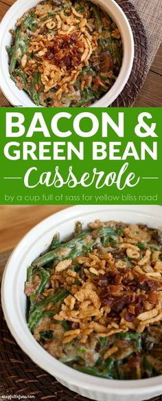 Bacon & Green Bean C