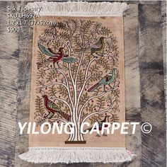 Art decor tapestry 100%hand-knotted material:silk please contact email:office@yilongcarpet.com get more informational Persian Carpet, Persian Rug, Contact Email, Handmade Rugs, Art Decor, Home Decor, Bohemian Rug, Tapestry, Make It Yourself