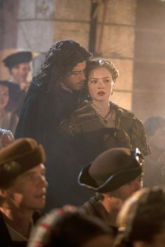 The Borgias - Lucrezia + Ceasare  /Francois Arnaud + Holliday Grainger