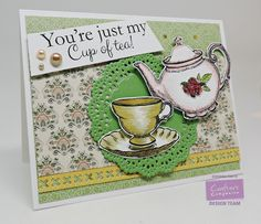 """Believe: Fall Coffee Lover Blog Hop """"You're just my cup of tea"""""""