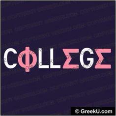 #College #PhiSigmaSigma
