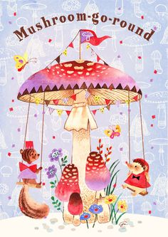 Mushroom-go-round | ?????? [pixiv] http://www.pixiv.net/member_illust.php?mode=medium&illust_id=42824938