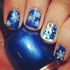 christmas by kelsiesnailfile #nail #nails #nailart