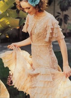 Vanessa Paradis  I would love to wear this!
