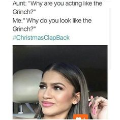 Christmas Clapbacks.Pinterest