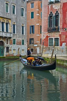 Venice, Italy--in the rain,snow or sunshine