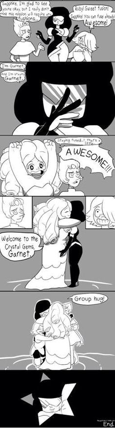The Birth of Garnet 8